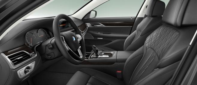BMW 750Li Interior